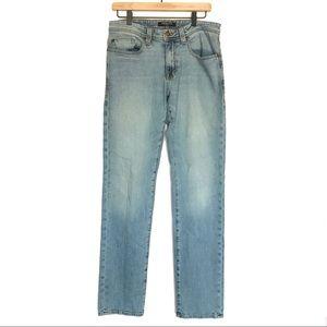 Fidelity Jimmy Slim Straight Leg Jean Fallout Blue
